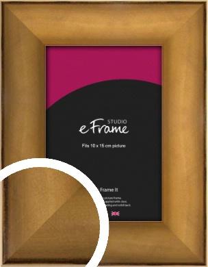 Beautiful Bronze / Copper Picture Frame, 10x15cm (4x6