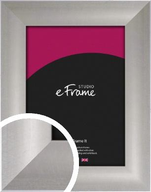 Sleek & Simple Silver Picture Frame (VRMP-241)