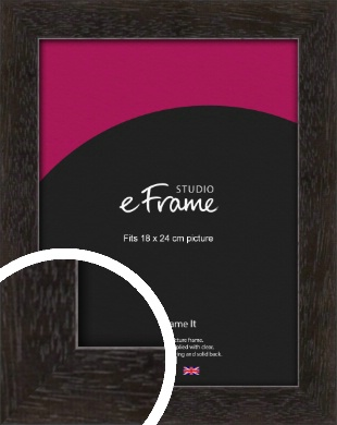 Espresso Gallery Brown Picture Frame, 18x24cm (VRMP-1244-18x24cm)