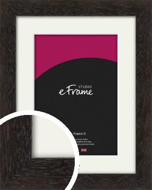 Espresso Gallery Brown Picture Frame & Mount (VRMP-1244-M)