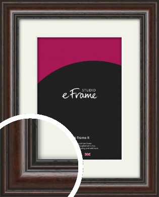 Dark Brown Picture Frame & Mount (VRMP-1248-M)