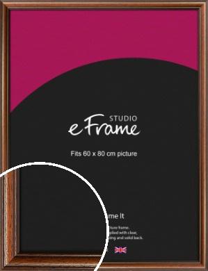 Antique Brown Picture Frame, 60x80cm (VRMP-672-60x80cm)