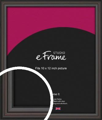 Elegant Vintage Black Picture Frame, 10x12