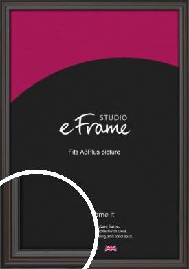 Elegant Vintage Black Picture Frame, A3Plus (VRMP-1249-329x483mm)
