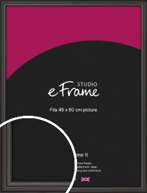 Elegant Vintage Black Picture Frame, 45x60cm (VRMP-1249-45x60cm)