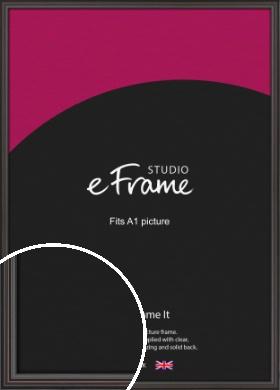 Elegant Vintage Black Picture Frame, A1 (594x841mm) (VRMP-1249-A1)