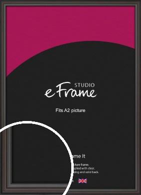Elegant Vintage Black Picture Frame, A2 (420x594mm) (VRMP-1249-A2)