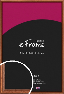 Rustic Brown Picture Frame, 16x24