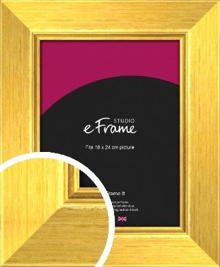 Tuscan Sun Gold Picture Frame, 18x24cm (VRMP-131-18x24cm)