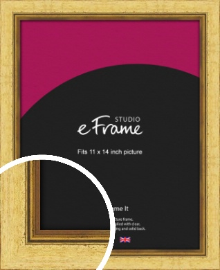 Opulent Gold Picture Frame, 11x14