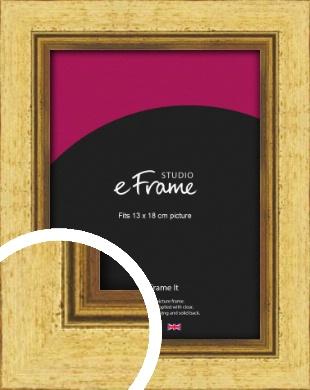 Opulent Gold Picture Frame, 13x18cm (5x7