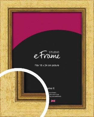 Opulent Gold Picture Frame, 18x24cm (VRMP-128-18x24cm)