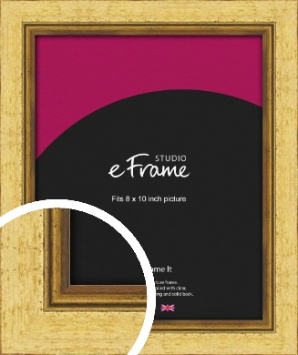 Opulent Gold Picture Frame, 8x10