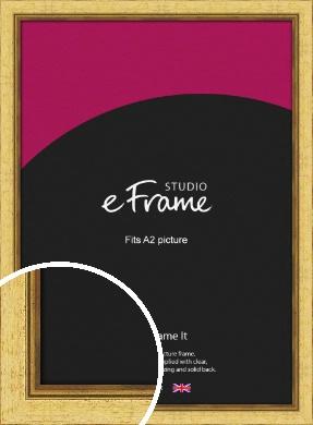 Opulent Gold Picture Frame, A2 (420x594mm) (VRMP-128-A2)