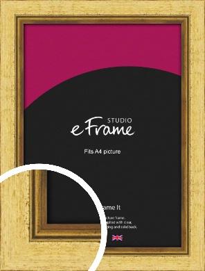 Opulent Gold Picture Frame, A4 (210x297mm) (VRMP-128-A4)