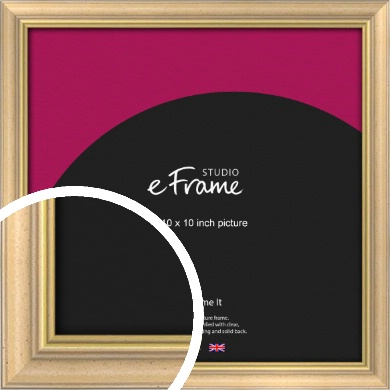 Welcoming Natural Wood Picture Frame, 10x10