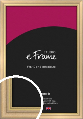 Welcoming Natural Wood Picture Frame, 10x15
