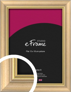 Welcoming Natural Wood Picture Frame, 13x18cm (5x7