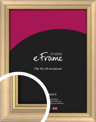 Welcoming Natural Wood Picture Frame, 18x24cm (VRMP-357-18x24cm)