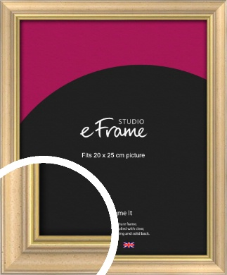 Welcoming Natural Wood Picture Frame, 20x25cm (8x10