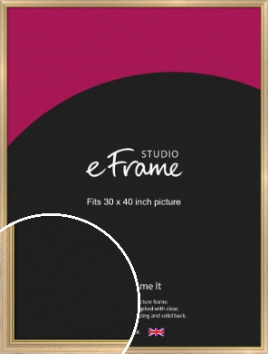Welcoming Natural Wood Picture Frame, 30x40