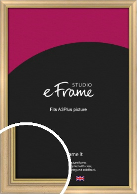 Welcoming Natural Wood Picture Frame, A3Plus (VRMP-357-329x483mm)