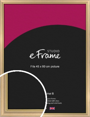Welcoming Natural Wood Picture Frame, 45x60cm (VRMP-357-45x60cm)