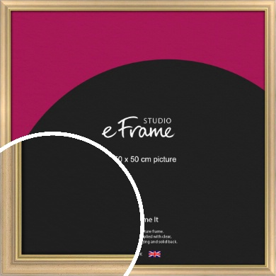 Welcoming Natural Wood Picture Frame, 50x50cm (VRMP-357-50x50cm)