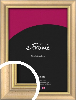Welcoming Natural Wood Picture Frame, A5 (148x210mm) (VRMP-357-A5)