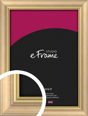 Welcoming Natural Wood Picture Frame (VRMP-357)