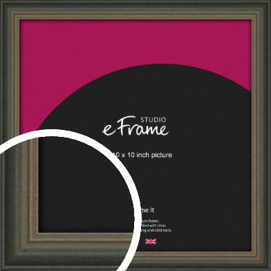 Tonal Grey Picture Frame, 10x10