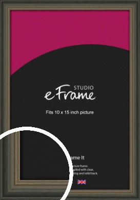 Tonal Grey Picture Frame, 10x15
