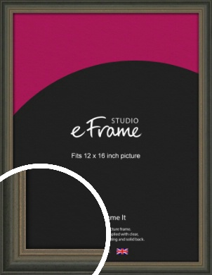 Tonal Grey Picture Frame, 12x16