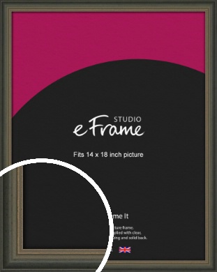 Tonal Grey Picture Frame, 14x18