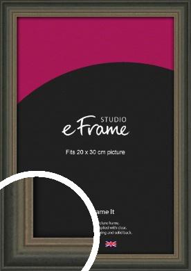 Tonal Grey Picture Frame, 20x30cm (8x12
