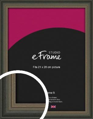 Tonal Grey Picture Frame, 21x28cm (VRMP-1273-21x28cm)