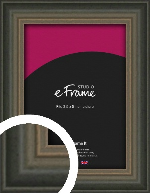 Tonal Grey Picture Frame, 3.5x5