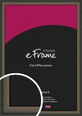 Tonal Grey Picture Frame, A3Plus (VRMP-1273-329x483mm)