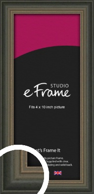 Tonal Grey Picture Frame, 4x10