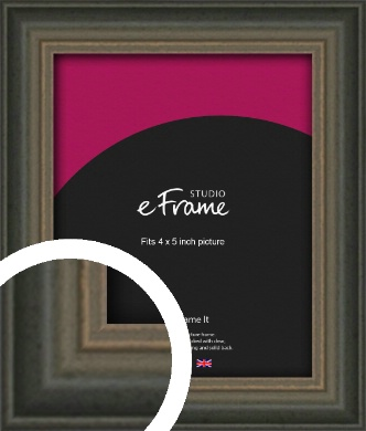 Tonal Grey Picture Frame, 4x5
