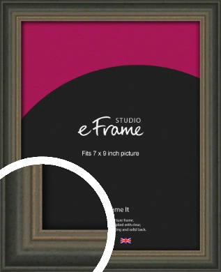 Tonal Grey Picture Frame, 7x9