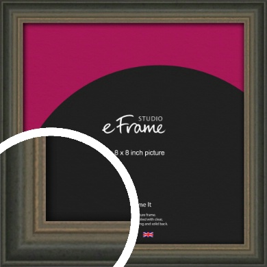 Tonal Grey Picture Frame, 8x8