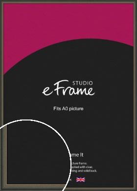 Tonal Grey Picture Frame, A0 (841x1189mm) (VRMP-1273-A0)