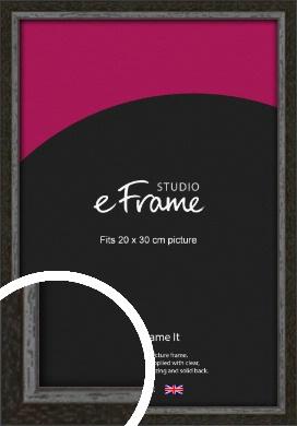 Slim Antique Brown Picture Frame, 20x30cm (8x12