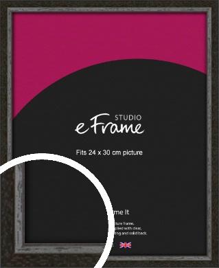 Slim Antique Brown Picture Frame, 24x30cm (VRMP-1286-24x30cm)