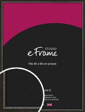 Slim Antique Brown Picture Frame, 45x60cm (VRMP-1286-45x60cm)