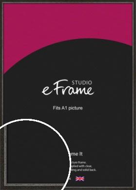 Slim Antique Brown Picture Frame, A1 (594x841mm) (VRMP-1286-A1)