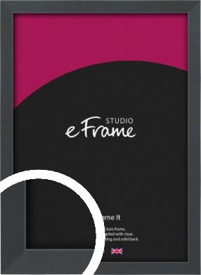 Slender Rectangular Black Picture Frame (VRMP-A066)