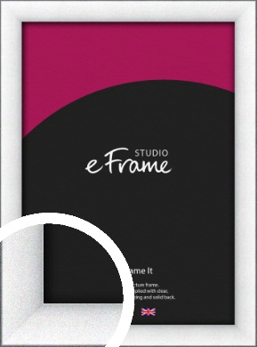 Contemporary Bevelled Silver Picture Frame (VRMP-A060)