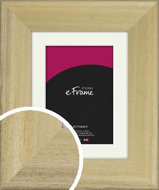 Prime Unfinished Natural Wood Picture Frame & Mount (VRMP-1300-M)